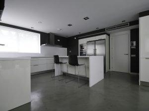Woonbeton in de keuken